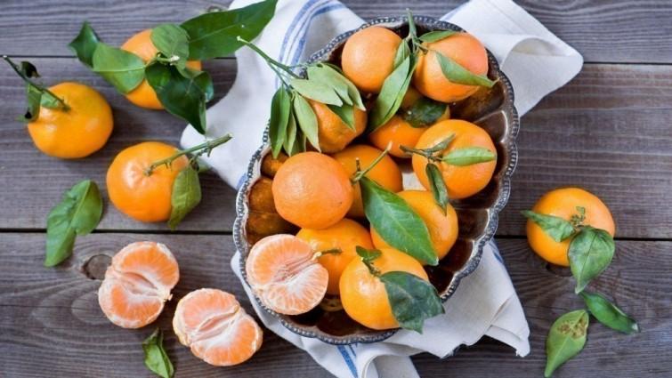 siembra de mandarinas
